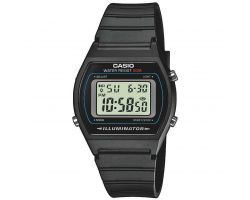 Casio W-202-1AVEF Collection, Cronometro, Vetro acrilico, Cassa in resina