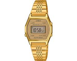 Casio LA690WEGA-9EF Orologio vintage, Cronometro, Bracciale con finitura IP