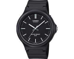 Casio MW-240-1EVEF Collection, Vetro acrilico, Cassa in resina