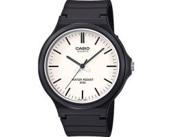 Casio MW-240-7EVEF Collection, Vetro acrilico, Cassa in resina