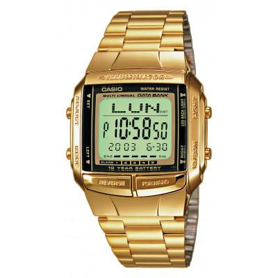 Casio DB-360GN Orologio, Telememo 30, Cronometro, 5 Sveglie, Fuso orario
