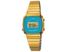 Casio LA-670WEGA-2 Orologio Donna polso Vintage Nuovo Crono Sveglia Calendario