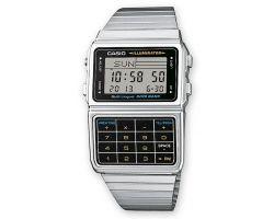 Casio DBC-611E-1E Orologio, Telememo 25, Cronometro, 5 Sveglie, Calcolatrice