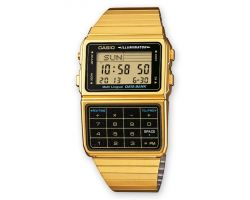 Casio DBC-611GE-1E Orologio, Telememo 25, Cronometro, 5 Sveglie, Calcolatrice