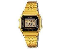 Casio LA-680WEGA-1E Orologio Donna polso Vintage Nuovo Sveglia Luce Batt. 5 anni
